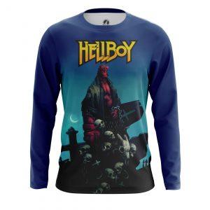 Merchandise Men'S Long Sleeve Hellboy Comics