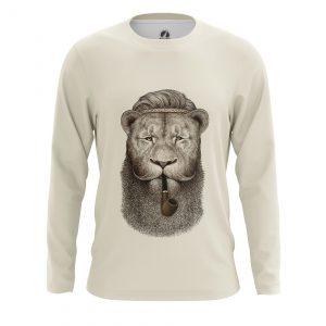 Merchandise Men'S Long Sleeve Hippie Lion Animals Lions Hippie Lion