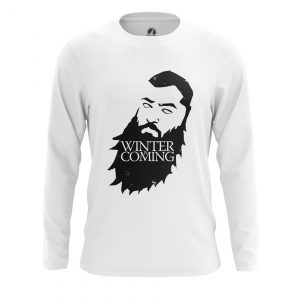 Collectibles - Men'S Long Sleeve House Of Beards Game Of Thrones