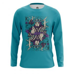 Merchandise Men'S Long Sleeve King Card Games Clothes