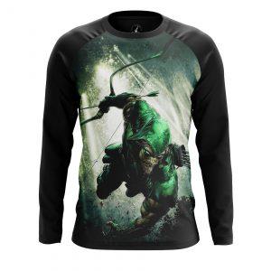 Collectibles Men'S Long Sleeve Green Arrow