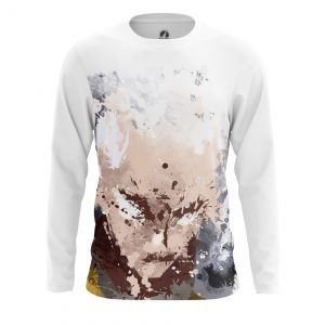 Collectibles Men'S Long Sleeve Saitama Painted One Punch Man