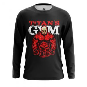 Collectibles Men'S Long Sleeve Shut Up And Train Attack On Titan