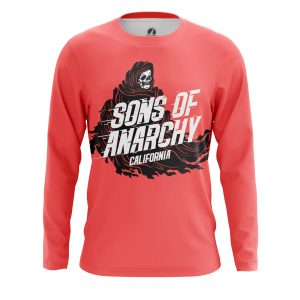 Merch Men'S Long Sleeve Sons Of Anarchy Tv