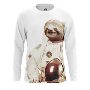 Merchandise Men'S Long Sleeve Space Sloth