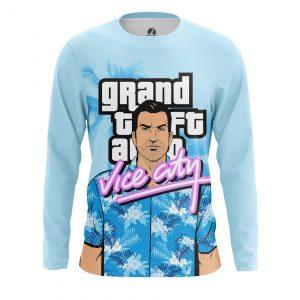 Merchandise Men'S Long Sleeve Tommy Vercetti Gta Vice City
