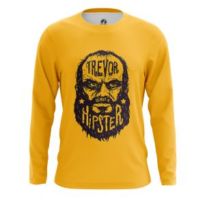 Collectibles - Men'S Long Sleeve Trevor Is Not A Hipster Gta 5