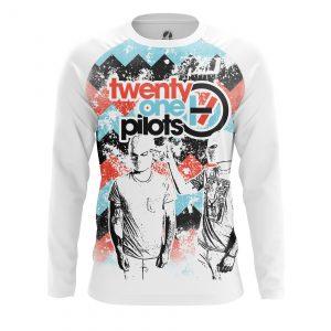 Merchandise Men'S Long Sleeve Twenty One Pilots Shirts Clothes