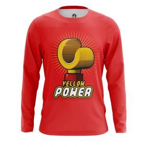 Merch Men'S Long Sleeve Yellow Power Lego