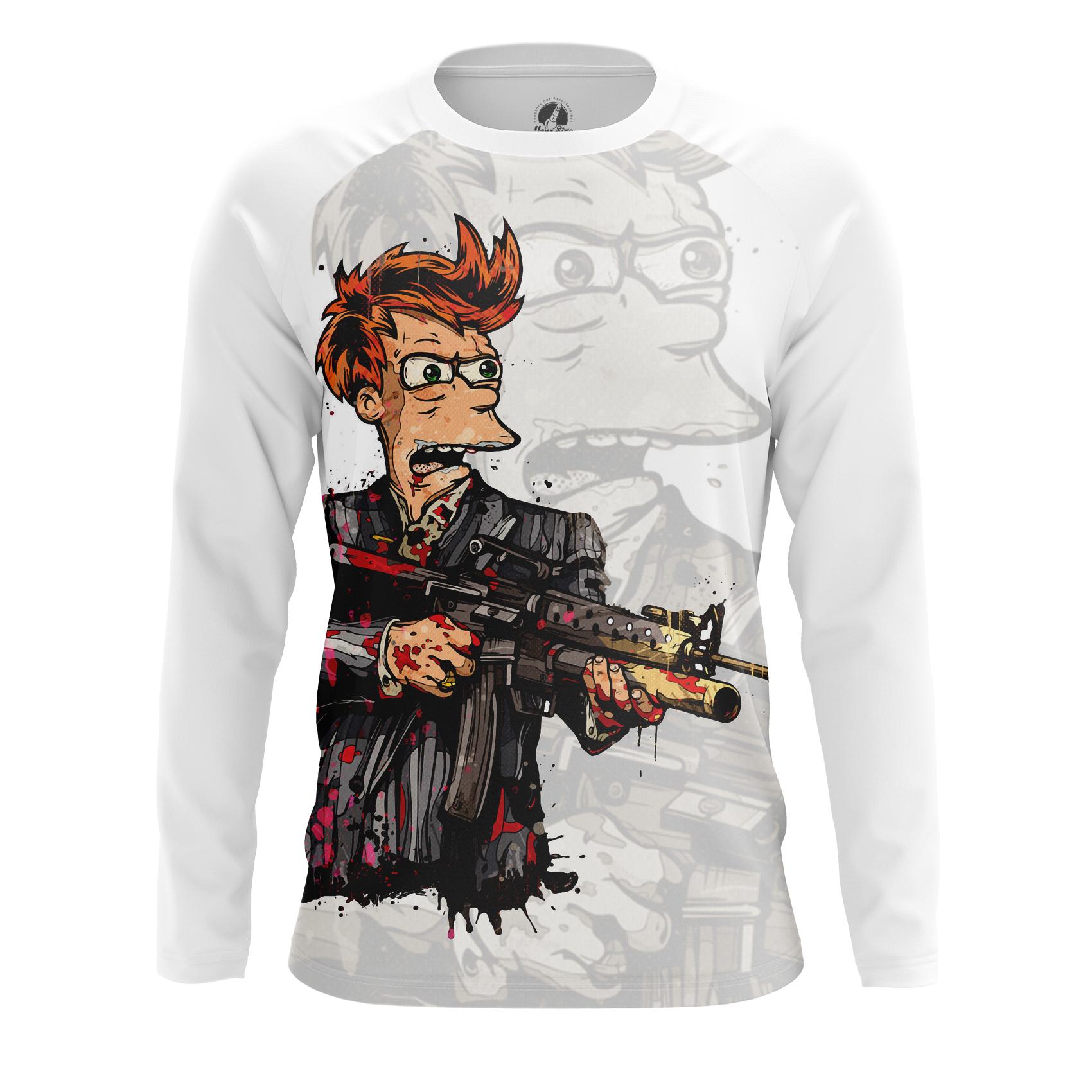 Merchandise Men'S Tank Fryface Futurama Fry Scarface Vest