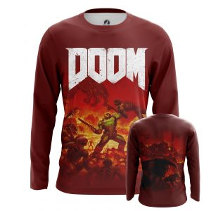 Collectibles Men'S Long Sleeve Shirt Top Doom Shooter