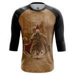 Merchandise - Men'S Raglan Assassin'S Creed 3 Game