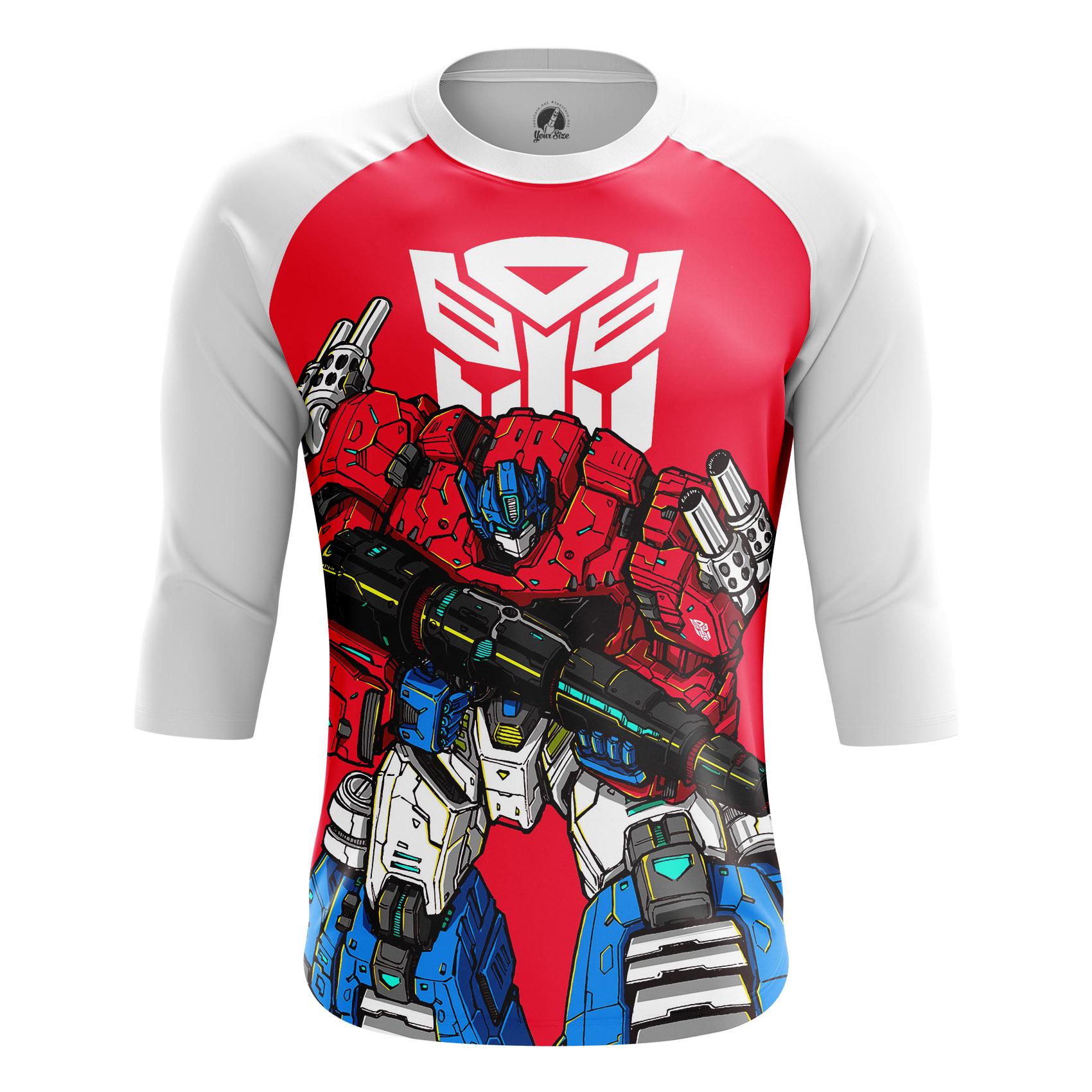 Collectibles - Men'S Raglan Bad Ass Prime Optimus Transformers