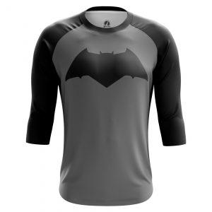 Merch Men'S Raglan Batman Black Logo Comics Batman Bat 2016