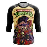 Merch - Men'S Raglan Bebop Tmnt Ninja Turtles Animated