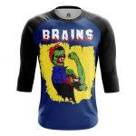 Collectibles - Men'S Raglan Brains Zombie We Can Do It