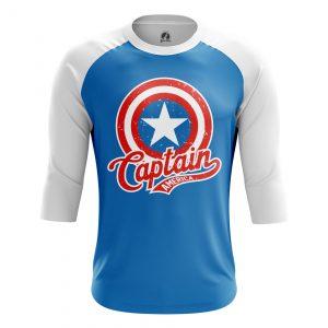Merchandise Men'S Raglan Captains Shield Rogers