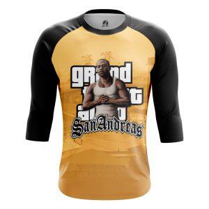 Merchandise Men'S Raglan Gta San Andreas Gaming
