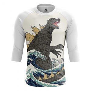 Merchandise Men'S Raglan Godzilla Japan Movie