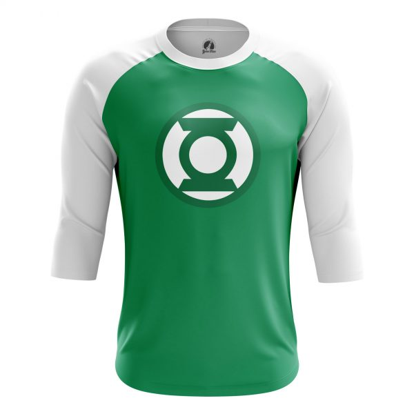 1d6df5362 Mens Raglan Green Lantern logo Lantern Corps.  m-rag-greenlanternlogo_1482275326_279