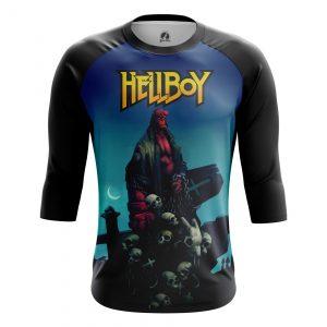 Merchandise Men'S Raglan Hellboy Comics