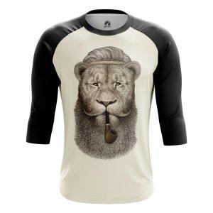 Merchandise Men'S Raglan Hippie Lion Animals Lions Hippie Lion