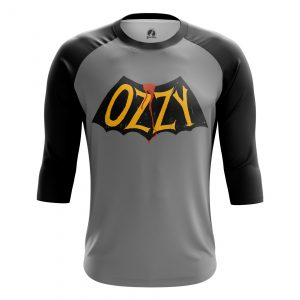 Merch Men'S Raglan Ozzy Ozzy Osbourne