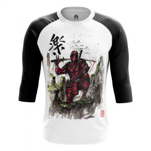 Collectibles Men'S Raglan Samurai Pool Deadpool Japan