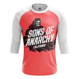 Merch Men'S Raglan Sons Of Anarchy Tv