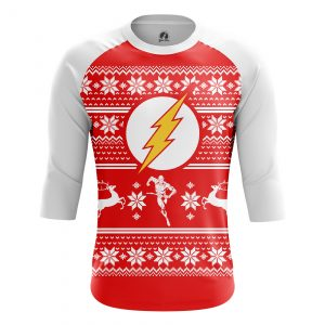 Collectibles Men'S Raglan Christmas Flash
