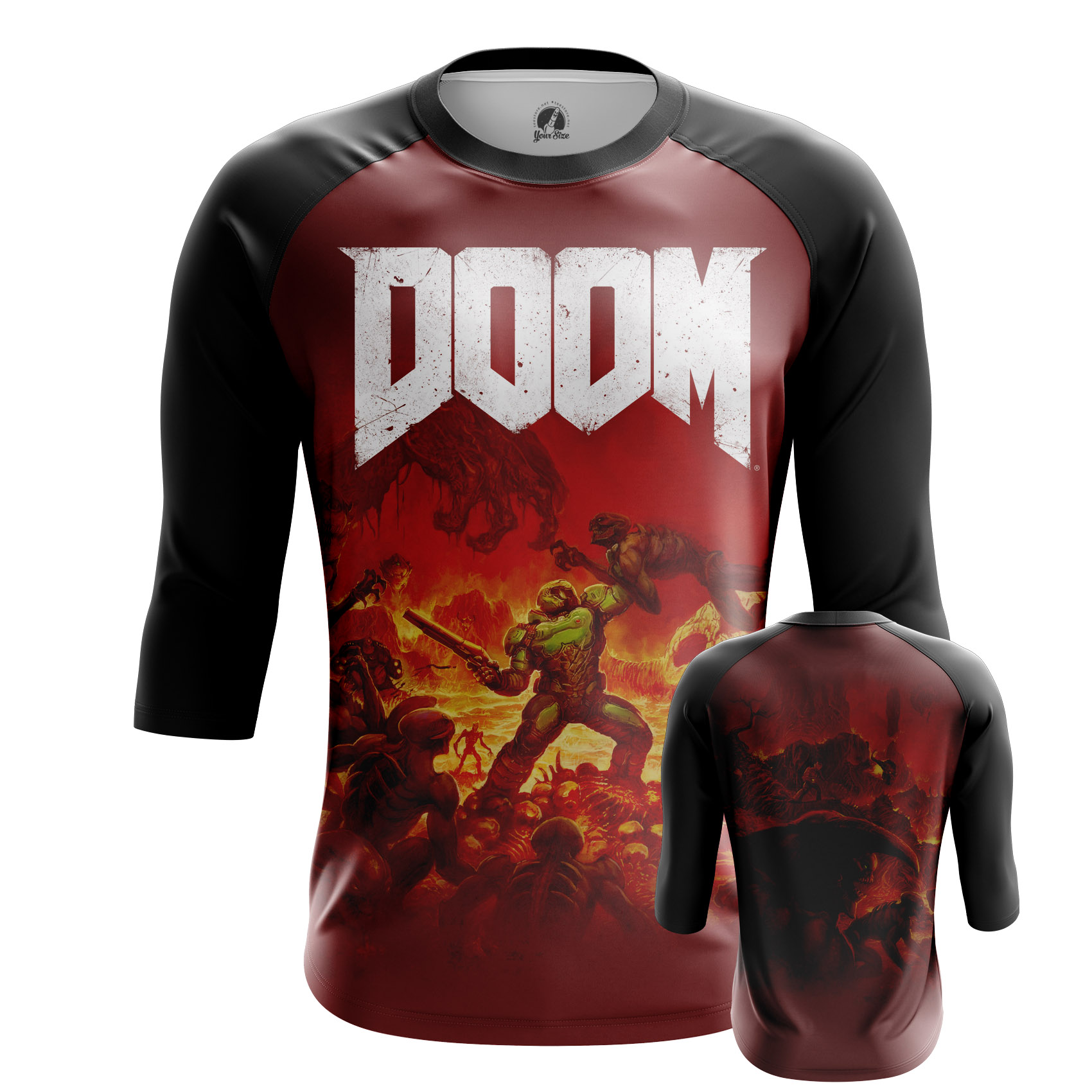 Merch Men'S T-Shirt Doom Game Boys Shirt