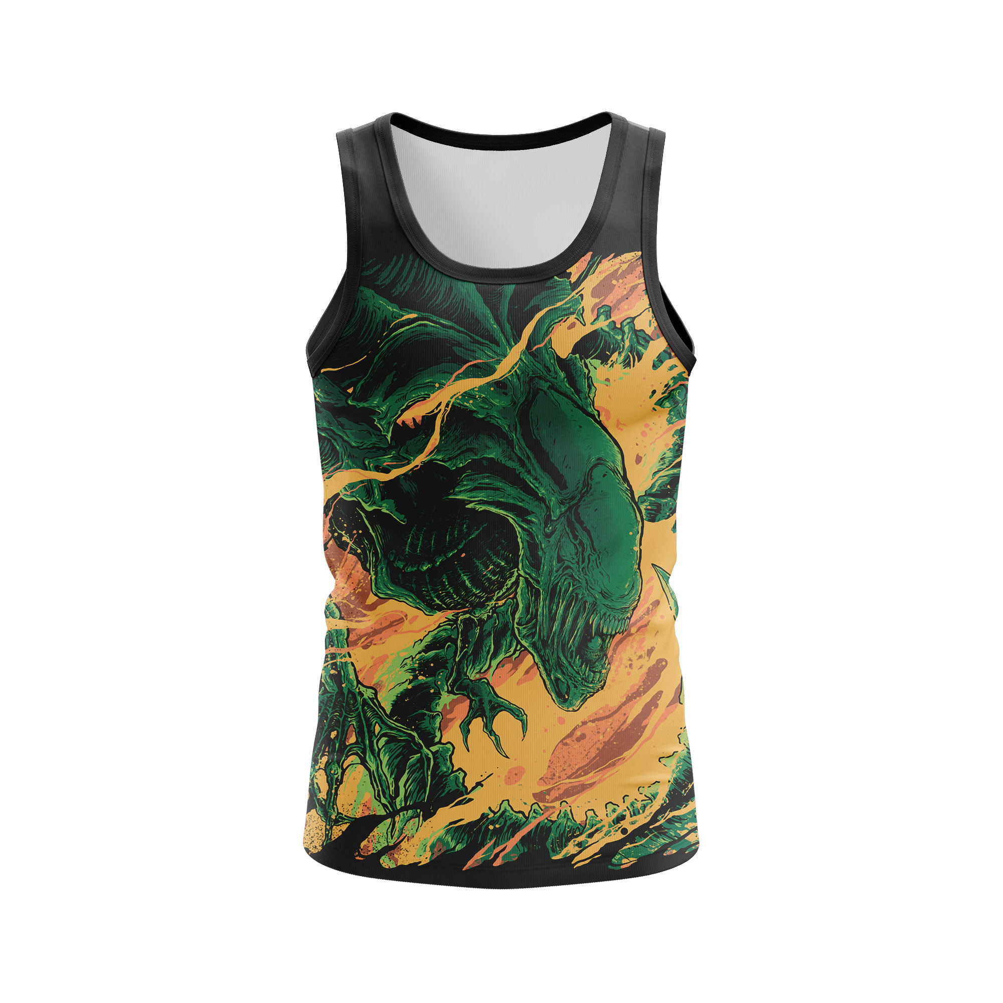 Merch Men'S Tank Alien Xenomorph Vest