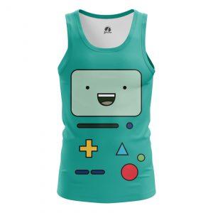 Merchandise Men'S Tank Bmo Face Adventure Time Characters Vest