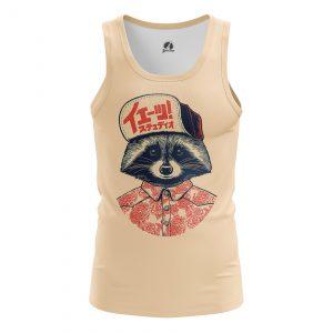 Collectibles Men'S Tank Coon Animals Raccoon Vest