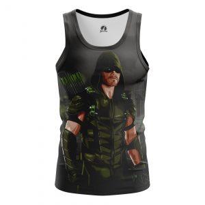 Collectibles Men'S Tank Green Arrow Black Vest