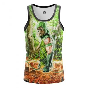 Collectibles Men'S Tank Green Arrow Two Worlds Vest