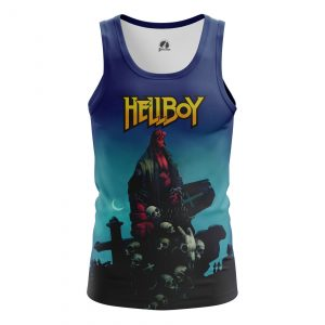 Merchandise Men'S Tank Hellboy Comics Vest