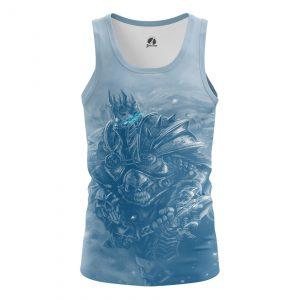 Merchandise Men'S Tank Lich King Gaming Warcraft Vest
