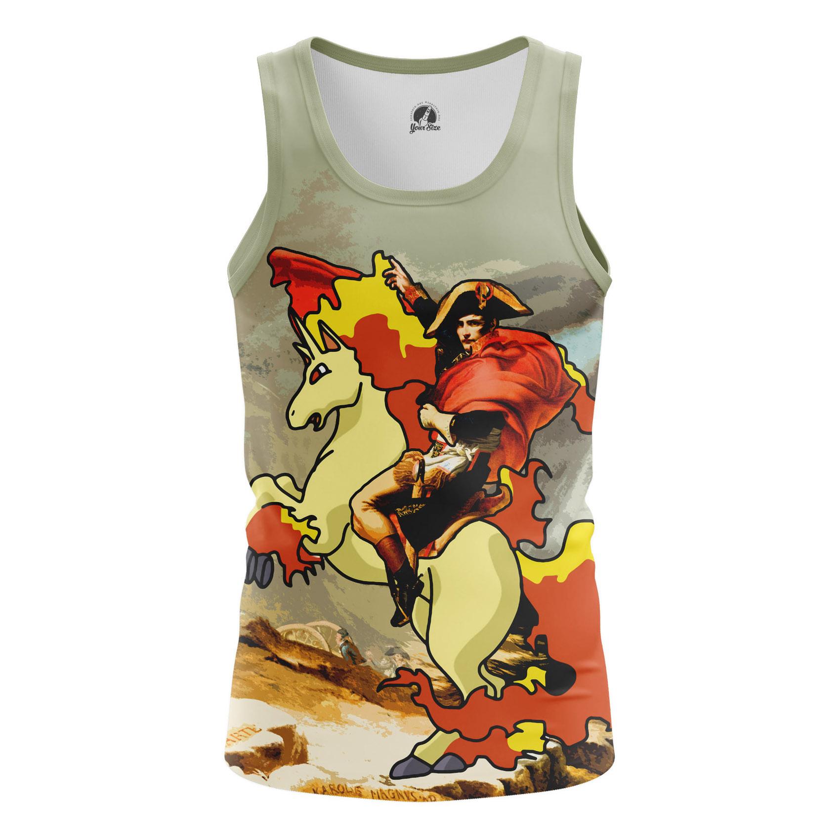 Merchandise - Men'S Tank Napoleon Epic Memes Emperor Vest