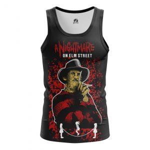 Merchandise Men'S Tank Nightmare On Elm Street Vest
