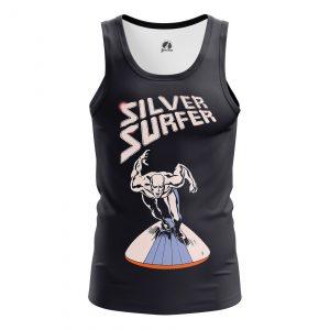 Merchandise Men'S Tank Silver Surfer Fantastic 4 Vest