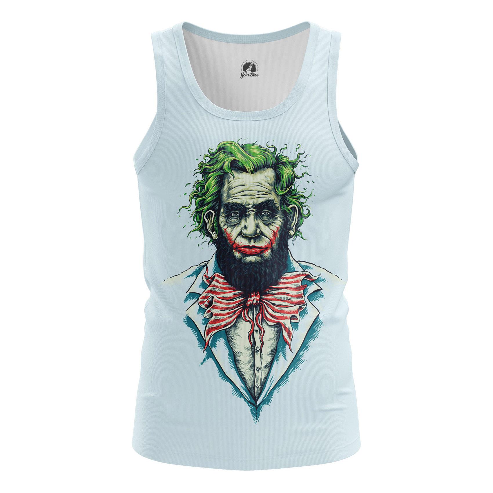 Merchandise - Men'S Tank Why So Lincoln Joker President Vest