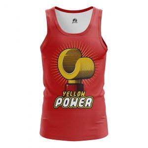 Merch Men'S Tank Yellow Power Lego Vest
