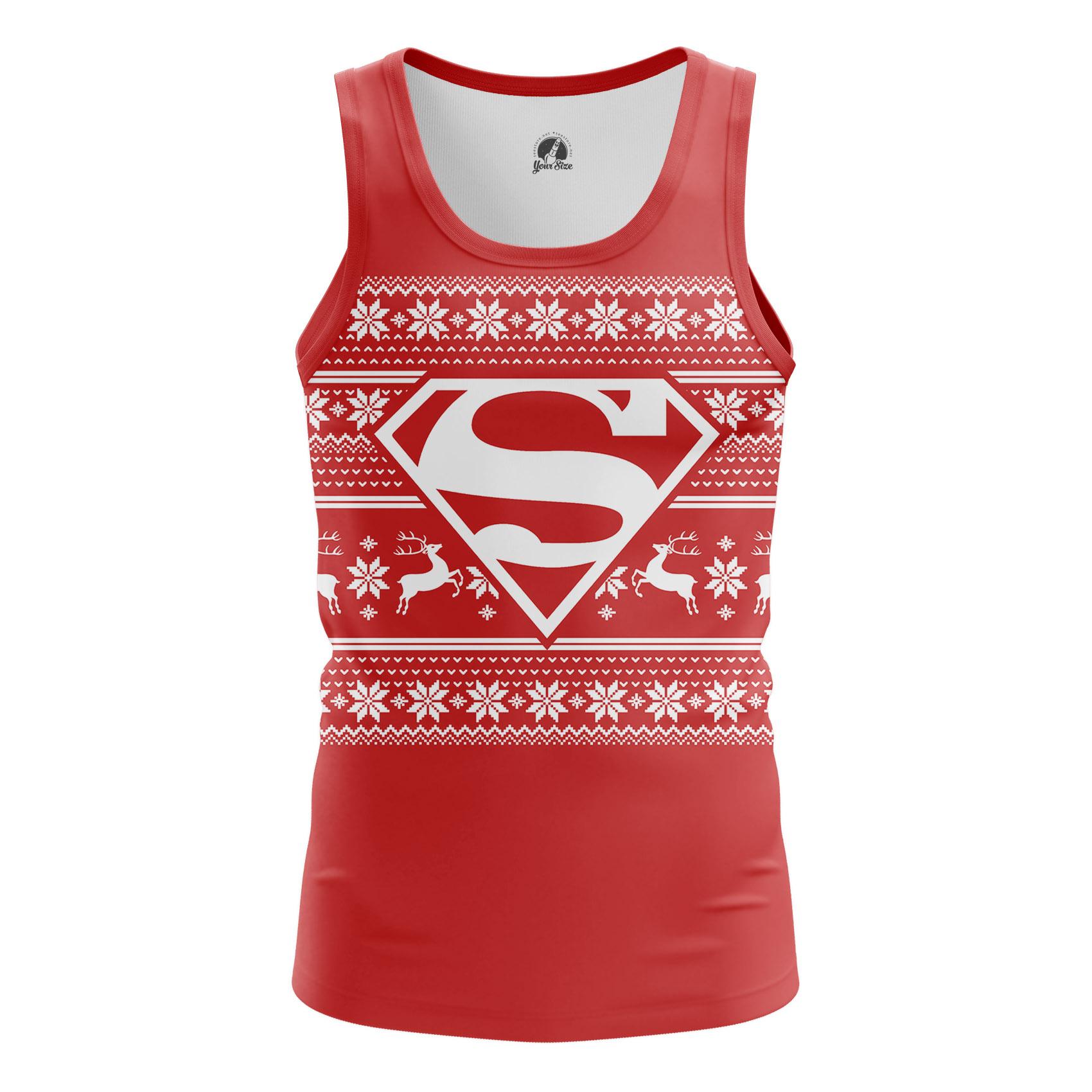 Collectibles - Men'S Tank Christmas Sups Superman Vest