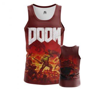 Collectibles Men'S Tank Doom Shooter Top Tee Cloth Vest