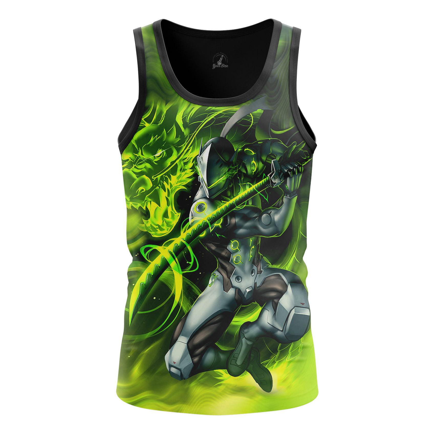 Collectibles Men'S T-Shirt Genji Overwatch Gaming