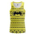 Merch - Men'S Tank Batman Christmas Pattern Vest