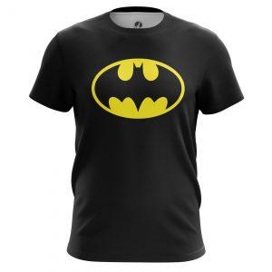 Merch Men'S T-Shirt Batman Logo Comics Batman Bat 2016 Black