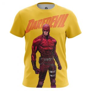Merchandise - Men'S T-Shirt Daredevil Yellow