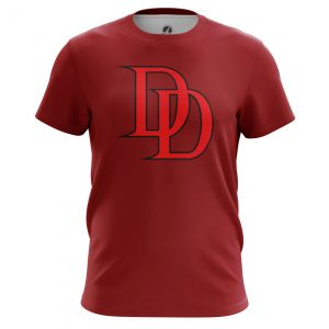 Collectibles Men'S T-Shirt Daredevil Logo Red